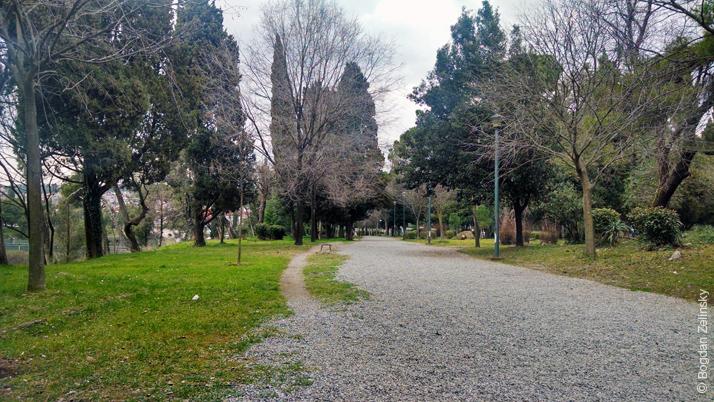 Парк Негуша (Njegošev Park)