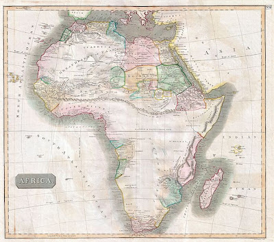 Africa-Map-1813