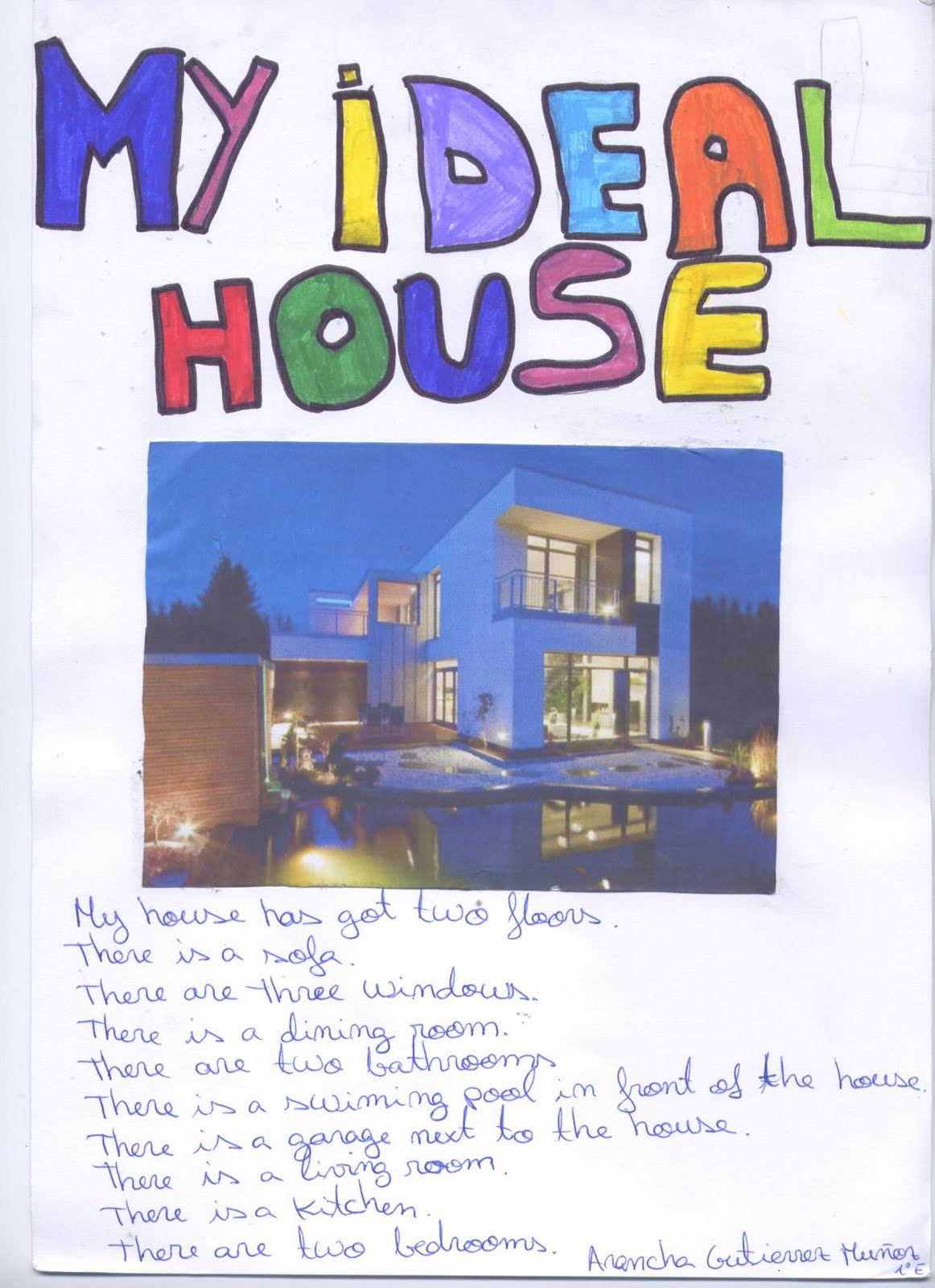 my ideal home In your dream world, what would your dwelling be like this is the house from the movie chloe, and i want to live in there in my ideal house, this house also has a beautiful garden in the.