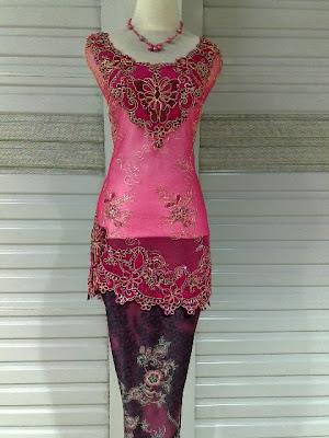 Kebaya RBS Pink Magenta