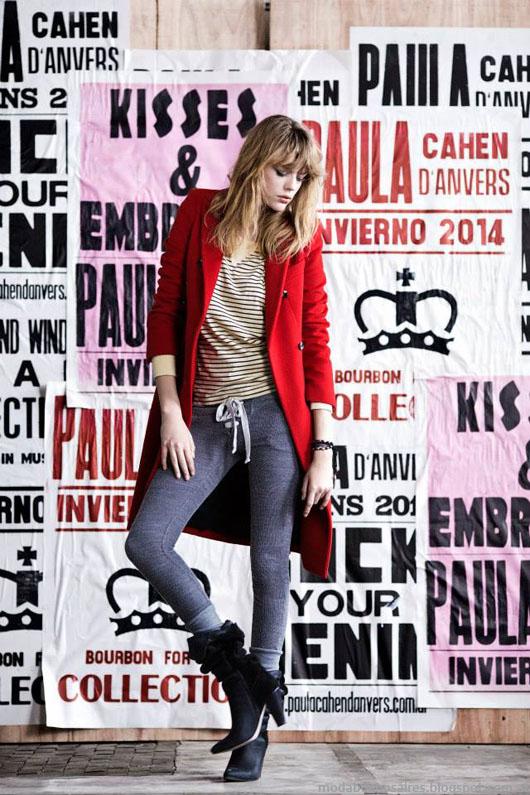 Paula Cahen D'Anvers otoño invierno 2014. Moda invierno 2014.
