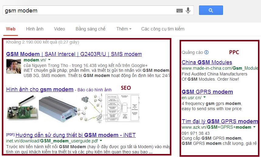 SEO la gi, dua website len trang 1 Google