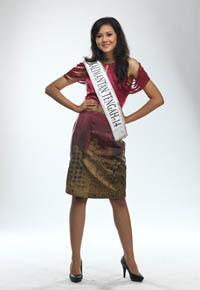 Miss Indonesia 2011 Kalimantan Tengah (Madhina Nur Muthia)