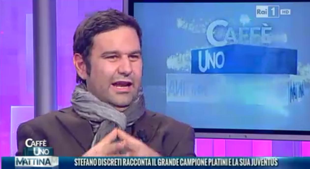 Stefano Discreti a UNO MATTINA su RAI1