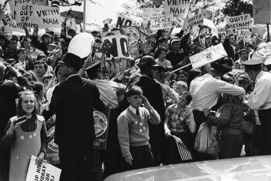 Momentos Del Pasado Protestas Contra La Guerra De Vietnam