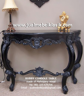 Supplier Indonesia Classic Furniture Classic Console Table Mahogany Console Table Carved mahogany