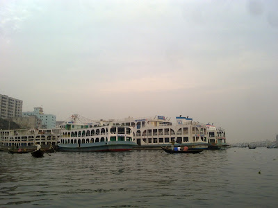 Lonc Port in Bangladesh