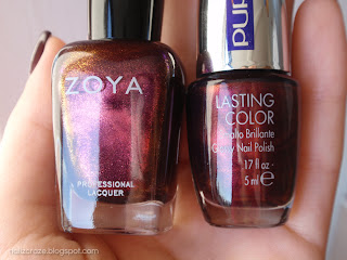 PUPA Deep Ruby VS Zoay Jem
