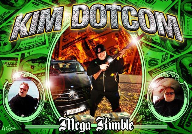 Mega Upload's Kim Dotcom by Aurich Lawson