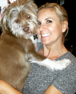 Brandi Passante y su perro