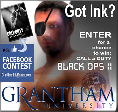 Grantham University's 'Show Us Your Ink' Facebook Contest