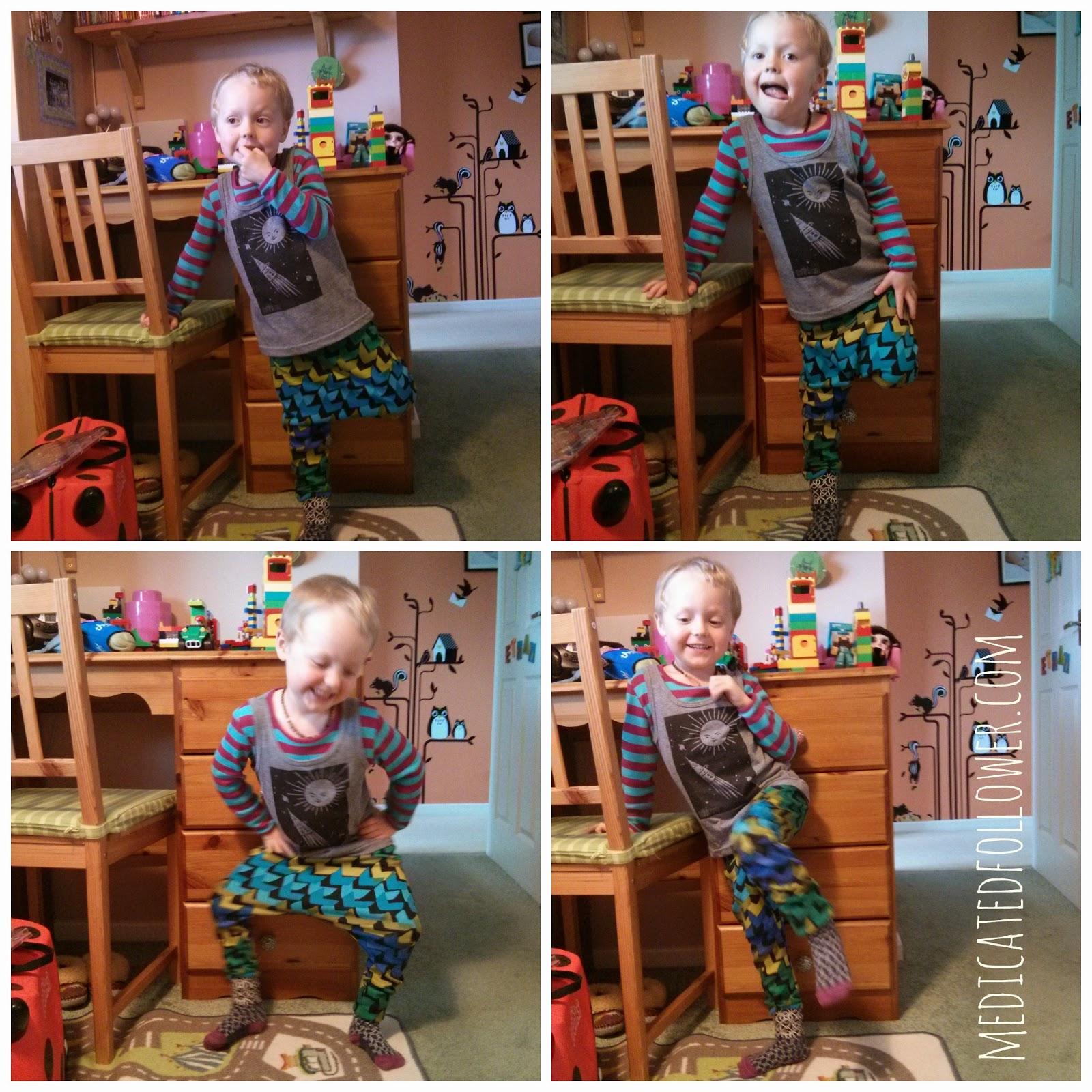 The Mini Classy  Harems  Vest Kids Fashion Medicated Follower of Fashion
