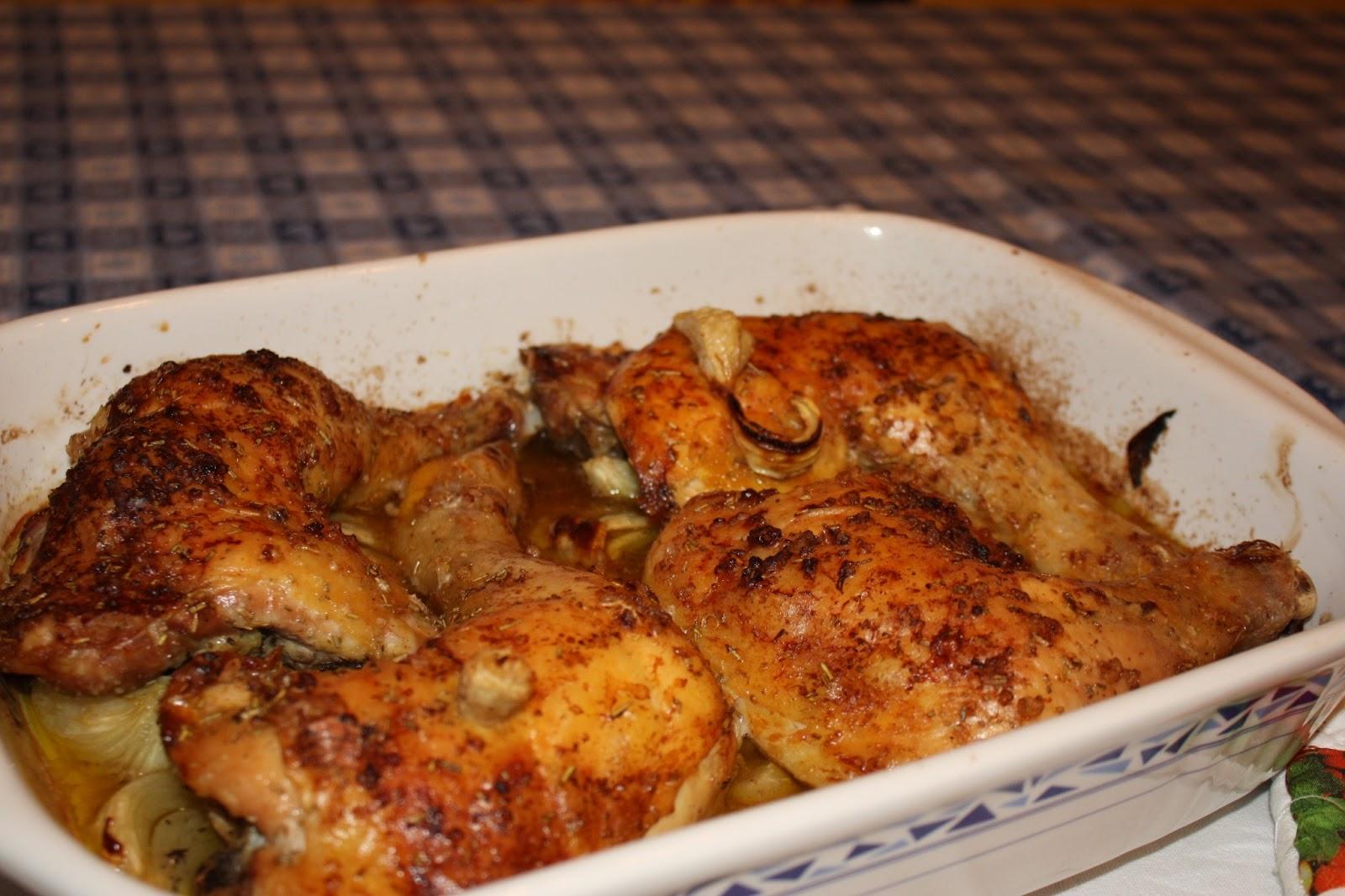 Un ciclone in cucina: Cosce di pollo al forno....con ...