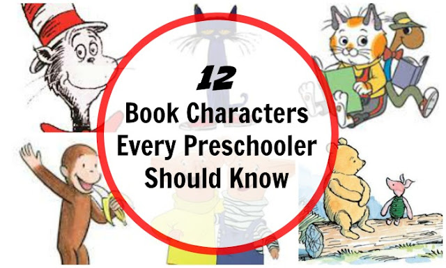Book characters every preschooler should know