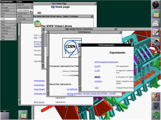 first graphical browser