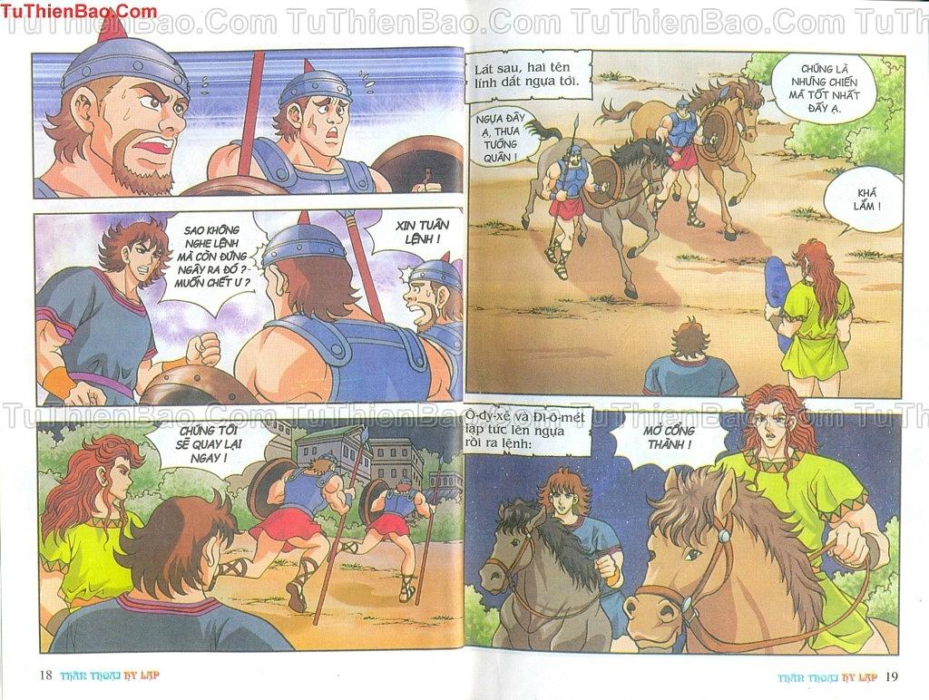 Thần thoại Hy Lạp Chapter 14 - Trang 8