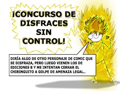 premios camisetas concurso de dibujo disfraces sin control 2011