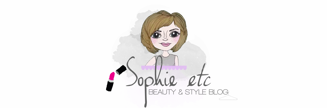 sophie etc // UK Beauty & Style Blog