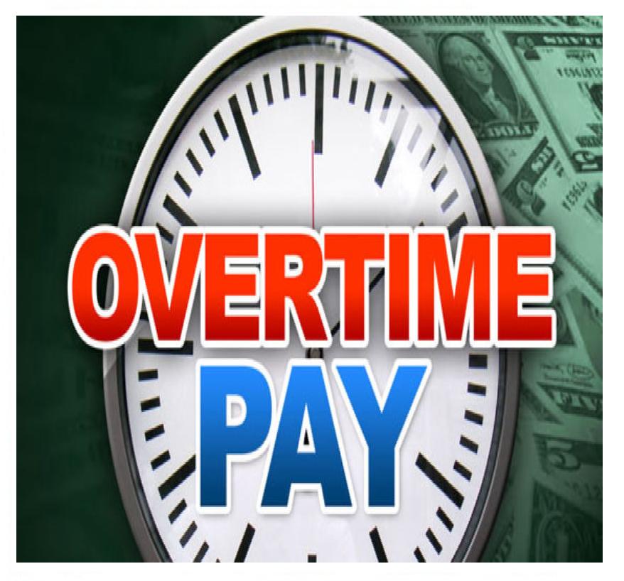 Overtime------Bani In Plus Daca Se Depaseste 12 Ore de Munca