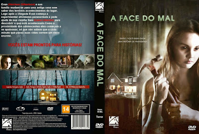 Filme A Face do Mal DVD Capa