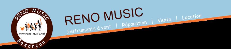 Reno Music : location, vente et réparation d'instruments à vent