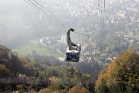 cable car to Pfaender - landmark mountain of Bregenz