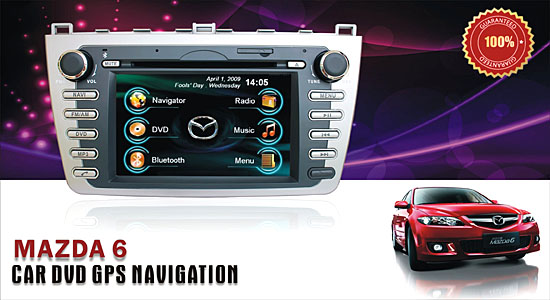 Mazda 6 Car DVD GPS Navigation