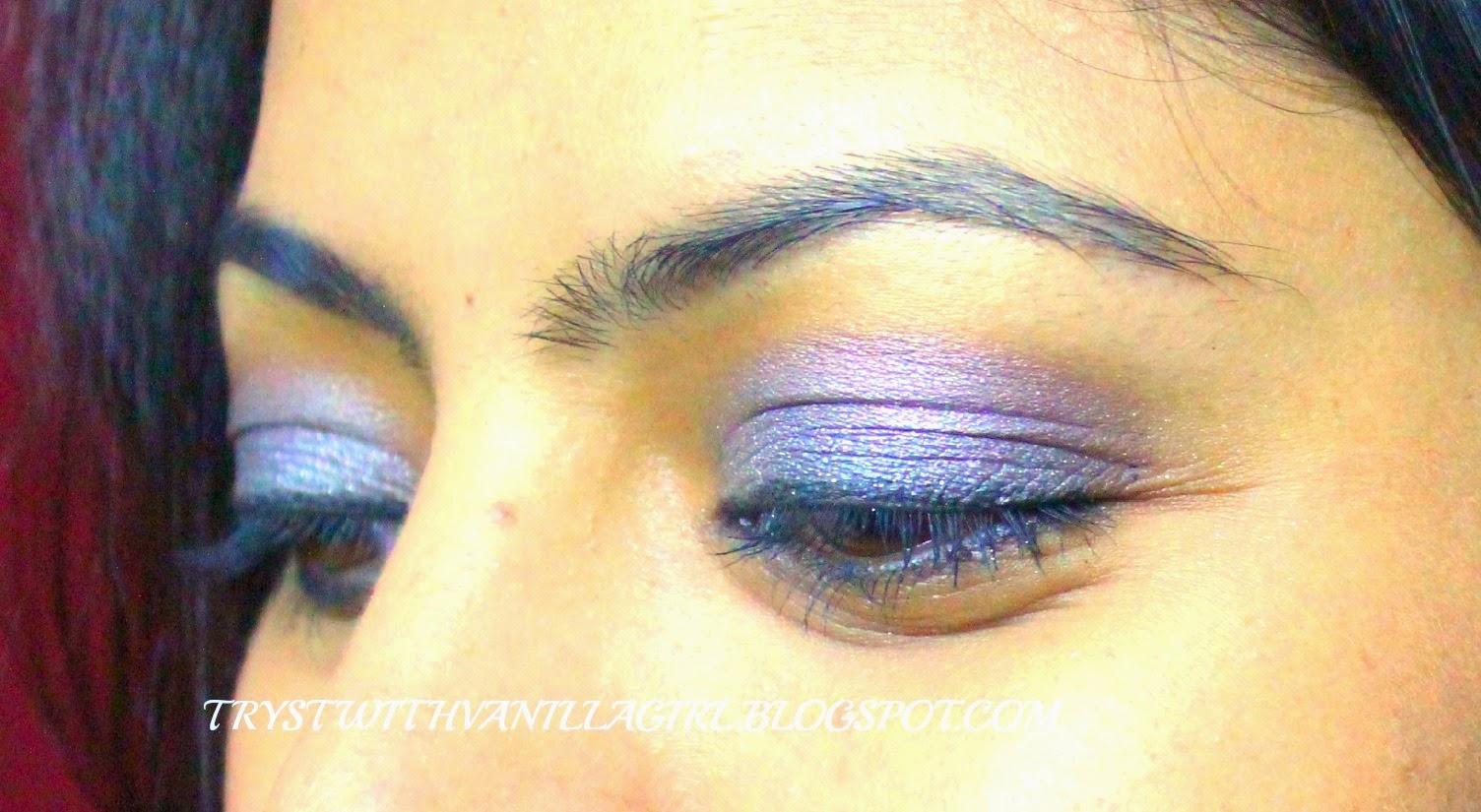 EOTD: MAYBELLINE EYE TATTOO IN AUDACIOUS ASPHALT