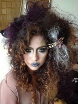 peinados 2014 halloween