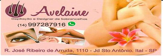 Avelaine Depilação & Designer de Sonbrancelhas