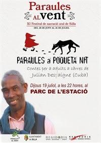 Festival de narración oral Paraules al Vent