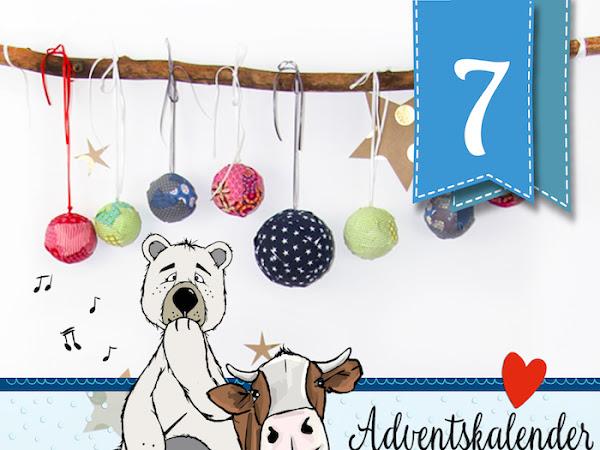 Adventskalender - Türchen Nr. 7 - Mit ganz viel Liebe selbstgemachte Weihnachtsdekoration von Mini-Wölkchen