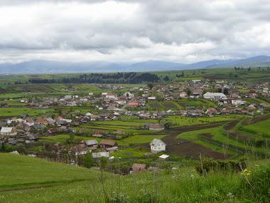 Vedere dinspre satul Filpea