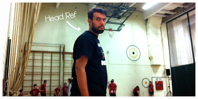 Dodgeball Referee