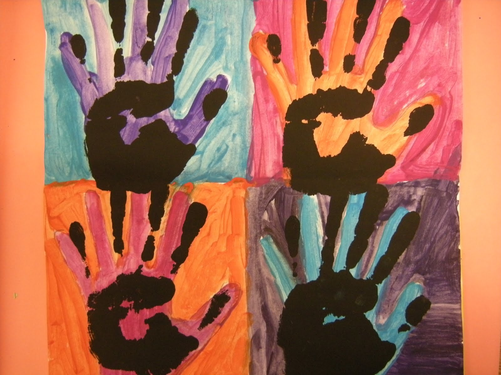 Painting tips the pinnacle of andy warhol paintings for Watercolor paintings of hands