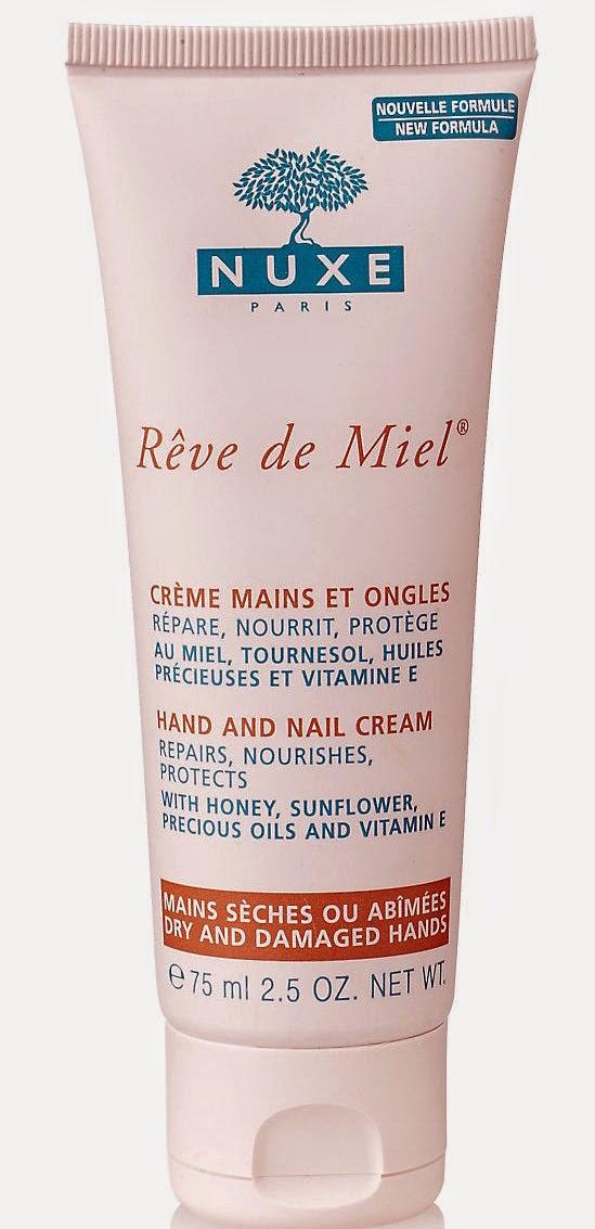 Nuxe Reve de Miel Hand and Nail Cream   London Make-up Blog