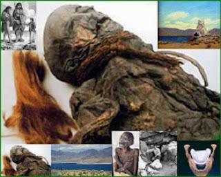 Geólogos determinaram que a caverna foi formada pela ação de ondas e correntes do lago. Os Paiutes, uma tribo nativa da região dos estados de Nevada, Utah e Arizona, contaram aos primeiros 'homens brancos' a história de batalhas de seus ancestrais contra uma raça de gigantes ferozes, com pele pálida e cabelo vermelho.
