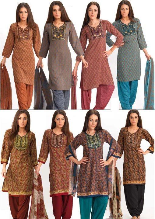 Neckline Fashion | Gala / Neck Designs of Kameez Dresses