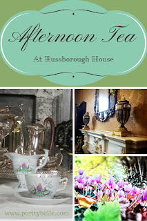 Afternoon Tea at Russborough House Pinterest Image