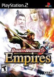 PS2 Dynasty Warriors 5 Empires Cheats
