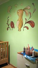 Murales - Pintura sobre la pared hecho a mano