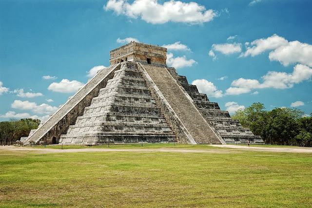 Piramide de Kukulcan en Yucatán
