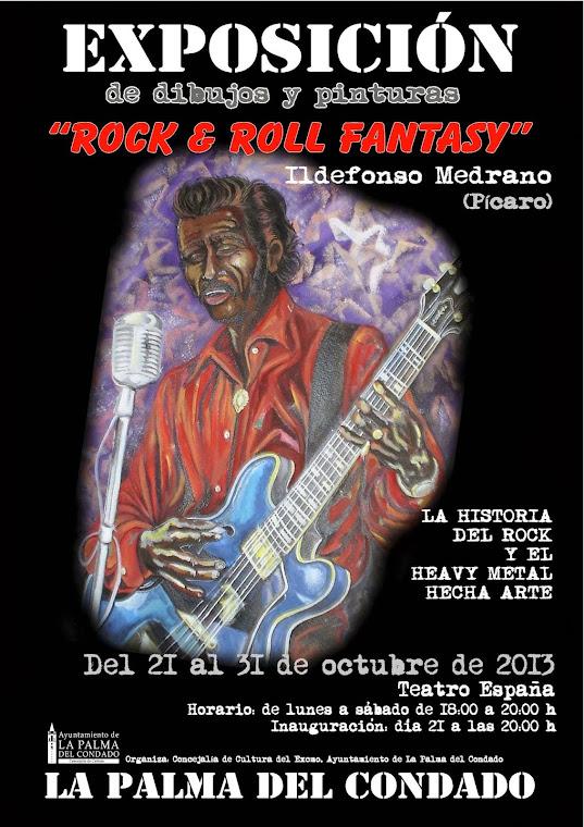 "EXPOSICIÒN ""ROCK & ROLL FANTASY"""