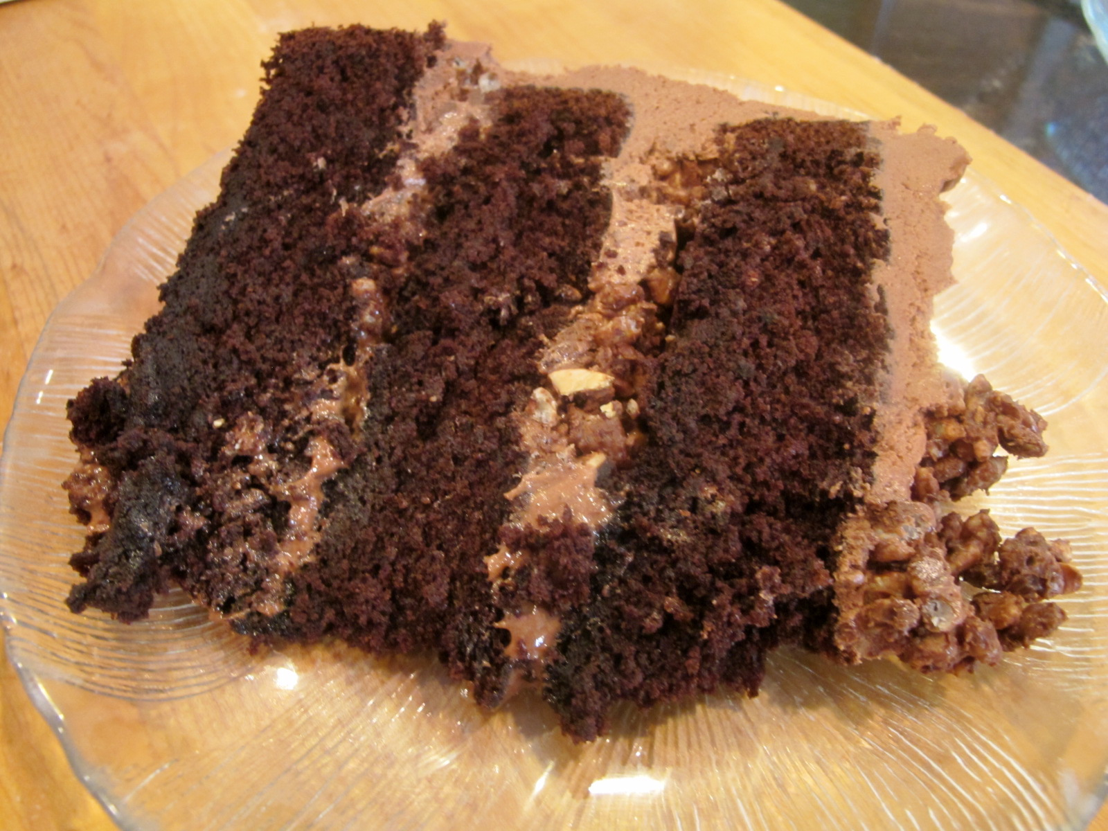 ... Strings: Whole-grain Challah & Devil's Food Cake with Hazelnut Cr...
