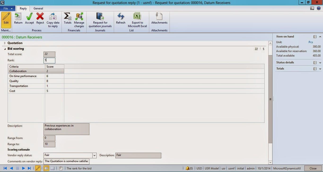 Microsoft Dynamics AX Blog Dynamics AX 2012 R3 Vendor