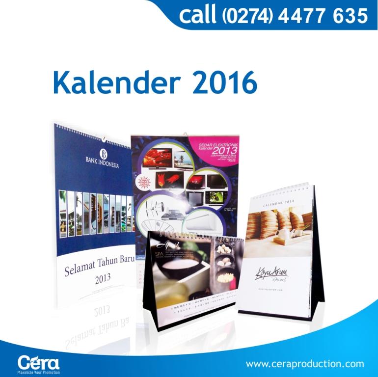 Media Promosi Kalender Salah Satu Media Promosi Yang