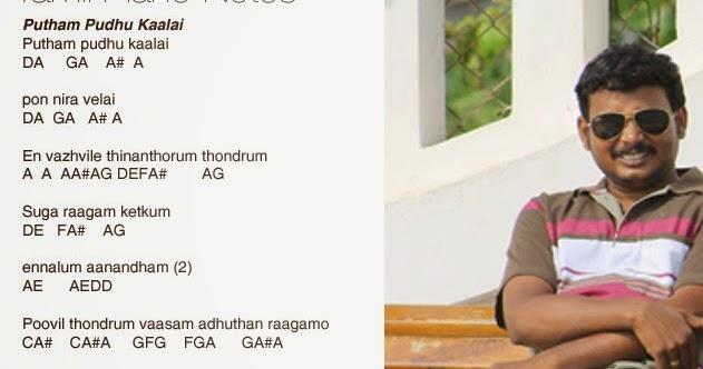 Tamil Piano Notes: Putham Puthu Kaalai - Megha