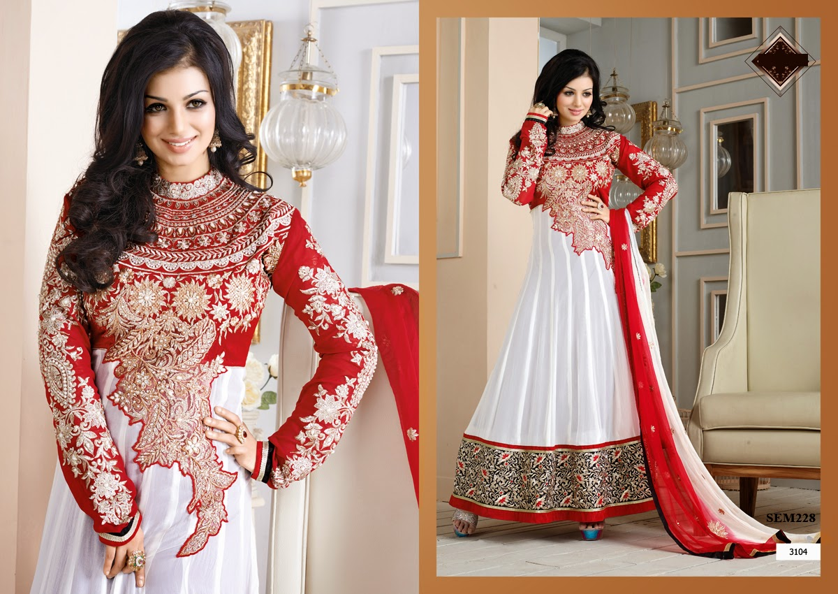 Latest Ayesha Takia Floor Touch Anarkali Suit Collection | Helix