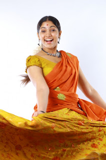 actress muktha bhanu cute Picture shoot in saree pics 06