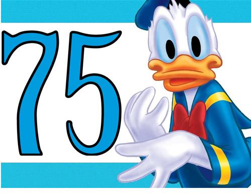El juego de los números - Página 4 Donald-duck-turns-75